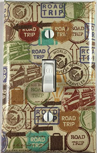 gle Toggle Light Switch Cover Wall Plate ()