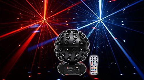 Chauvet DJ Rotosphere Q3 Mirror Ball Dance Floor DMX LED Effect Light + Remote