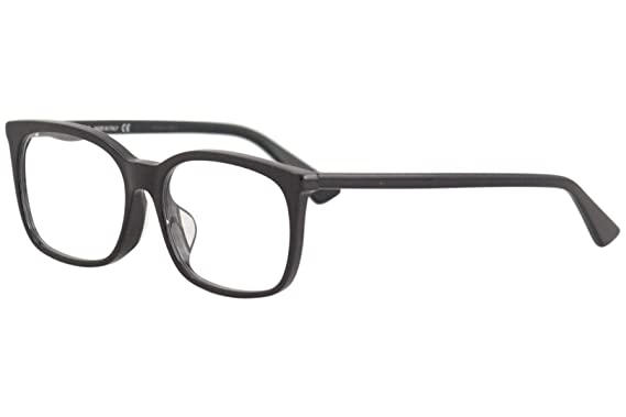 Amazon.com  Gucci GG0333OA Eyeglasses 001 Black Black 55 mm  Clothing a68b3e854b0