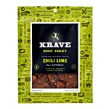 Krave Beef Jerky, Chili Lime, 3.25-Ounce