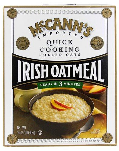 McCann's Irish Oatmeal Quick Cooking -- 16 oz - 2 pc