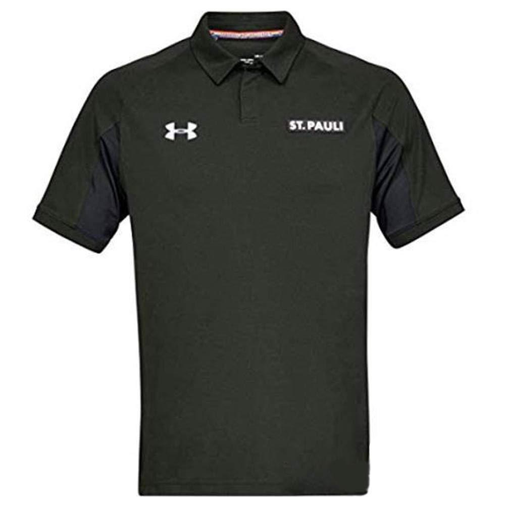 Under Armour 2018-2019 St Pauli Team Polo Shirt (Timber)
