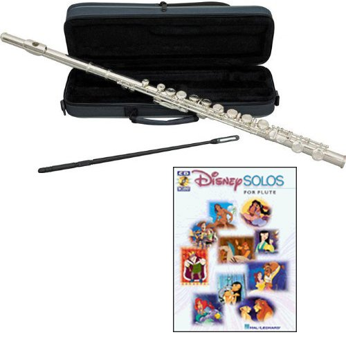 - Disney Solos Flute Pack - Includes Flute w/Cse & Accessories & Disney Solos Play Along Book