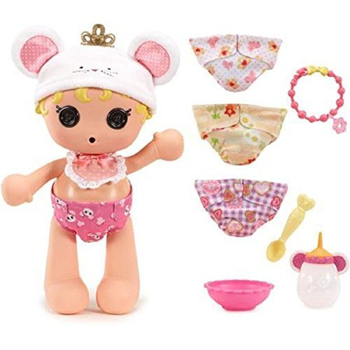 Lalaloopsy Babies Diaper Surprise Doll Set Cinder Slippers]()