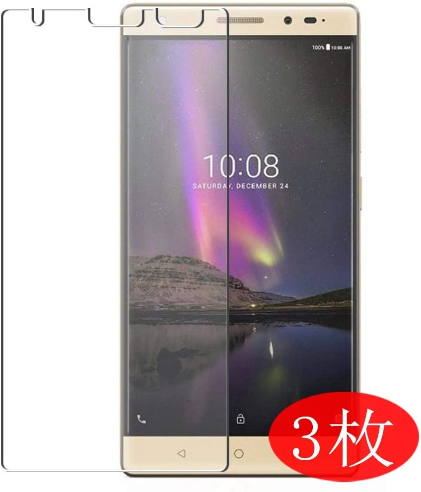 【3 Pack】 Synvy Screen Protector for Lenovo Phab 2 Plus TPU Flexible HD Film Protective Protectors [Not Tempered Glass]