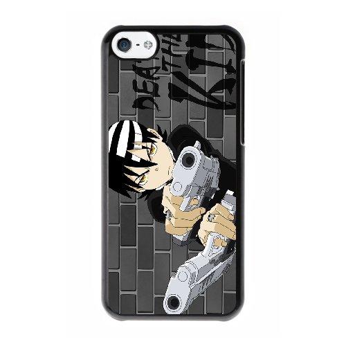 Coque,Coque iphone 5C Case Coque, Soul Eater Cover For Coque iphone 5C Cell Phone Case Cover Noir