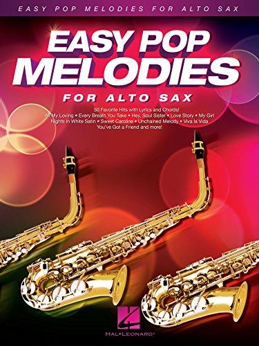 - Easy Pop Melodies for Alto Sax