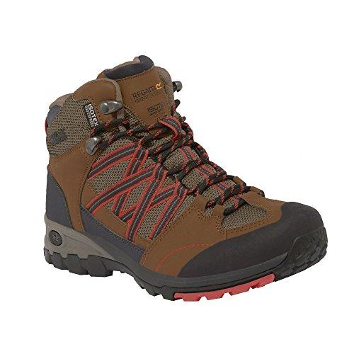 High Rise Saddle L Hiking Boots Regatta Samaris Women's Coral Mid XwBPZgwITq