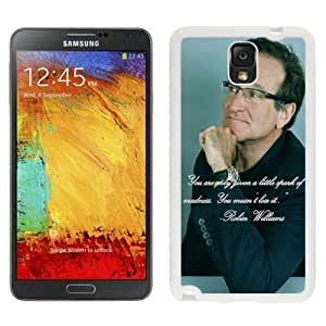 NEW Custom Designed For Iphone 5/5S Case Cover Phone With Robin Williams Spark Of Madness_White Phone