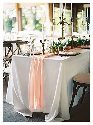 SoarDream 10 Pieces Soft Table Runners 27