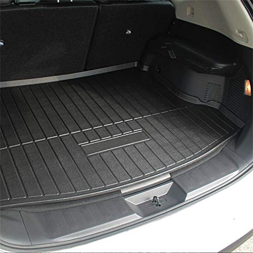 (Vesul Rear Trunk Cargo Cover Boot Liner Tray Carpet Floor Mat Compatible with Nissan Rogue 2014 2015 2016 2017 2018 2019 )