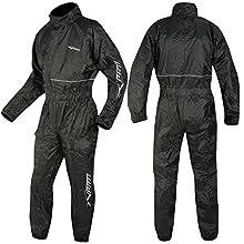 A-pro Motorcycle - Traje de lluvia impermeable para moto, 1 unidad, chaqueta y pantalones, 3XL