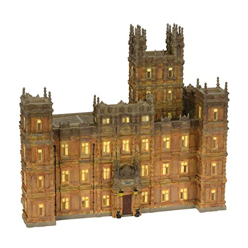 Department 56 Downton Abbey Lit House, 11.42 inch