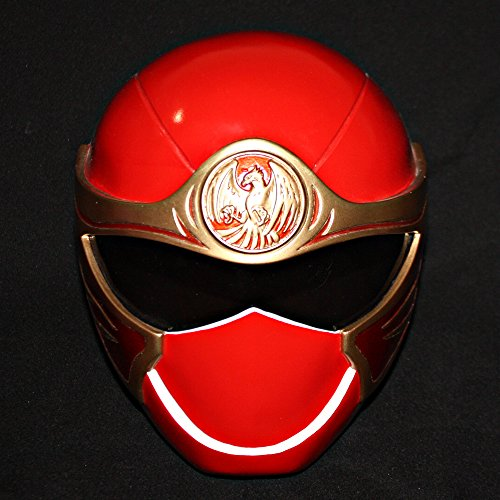 Halloween Costume Power Ranger Helmet Mask Red HURRICANGER NINJA STORM PR13 (Power Rangers Helmet)