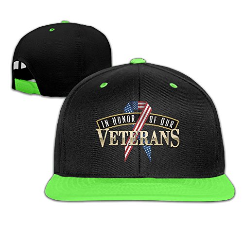 In-Honor-Of-Our-Veterans Youth Adjustable Hip-hop Baseball Cap - In Toledo Mall