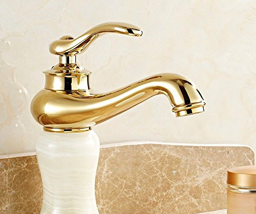 D NewBorn Faucet Kitchen Or Bathroom Sink Mixer Tap Hot And Cold Jade Mixer Single Lever Single Hole D