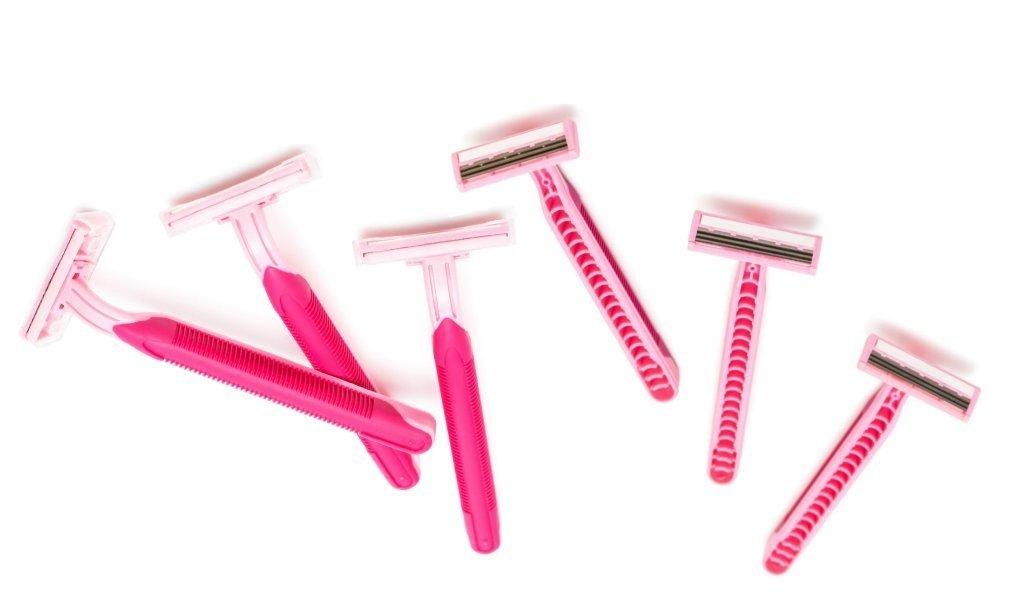 OraCorp Ladies Pink Razor Multi-Packs (12 Pack)