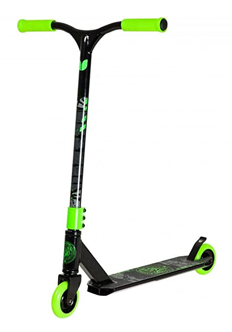 BLAZERPRO Blazer Pro Complete Scooter Patinetes Patinaje Unisex Adulto, Multicolor (Black/Green), Talla Única