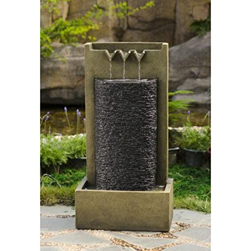 Jeco Stone Wall Indoor Outdoor Water Fountain