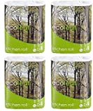 Suma Ecoleaf 3 Ply Kitchen Towel Twin Roll Packpack Bundle 2rolls
