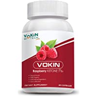 Vokin Biotech Raspberry Ketone Pro capsules with weight loss supplement and Ultimate fat burner -60 capsules