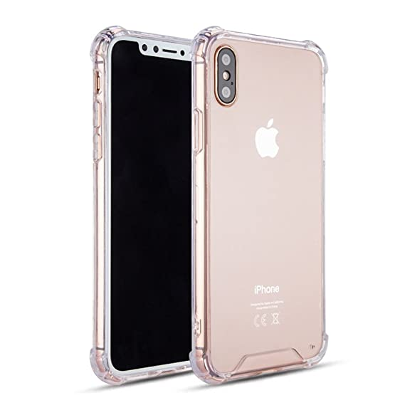 huge discount 004db 88c55 KIKO Apple iPhone X (Ten) Crystal Clear Transparent Case Skin Cover Shell -  Bumper Protective Anti Scratch Shockproof Shatterproof Abrasion Resistant  ...
