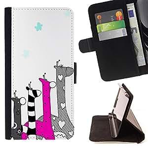 Dragon Case - FOR Samsung Galaxy S5 Mini, SM-G800 - love others unconditionally - Caja de la carpeta del caso en folio de cuero del tir¨®n de la cubierta protectora Shell