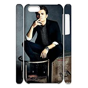 YUAHS(TM) Customized 3D Hard Back Cover Case for Iphone 5C with Paul Wesley YAS372349