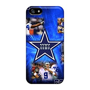 New Snap-on JenniferTziamouranis Skin Cases Covers Compatible With Iphone 5/5s- Dallas Cowboys
