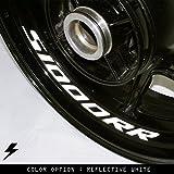 BMW S1000RR v2 Motorcycle Inner Rim Sticker Stripe GB