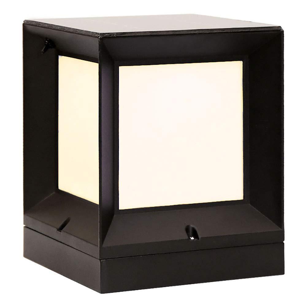 HECHEN Luce Solare per Esterni da Esterno a Luce Solare Semplice per Esterni,15  15cm