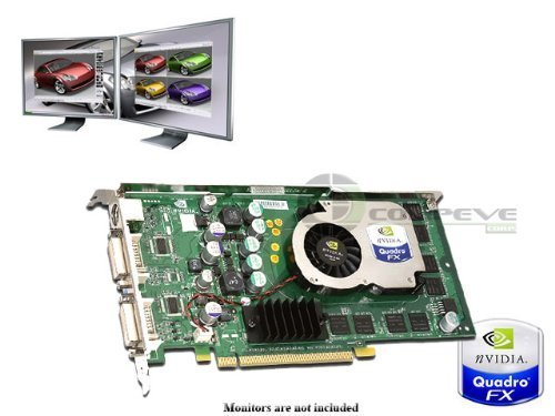 Dell nVidia Quadro FX1300 DDR PCI-e x16 N4077 128MB - Graphics Nvidia Quadro Fx 1300