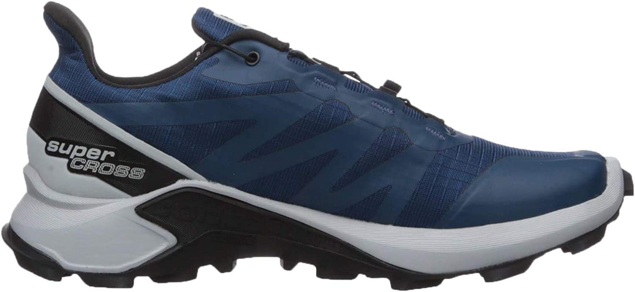 SALOMON Shoes Supercross, Zapatillas de Running para Hombre, Azul ...