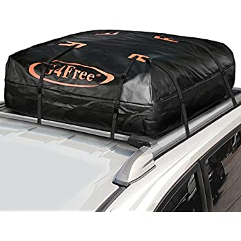 G4Free 18.5 Cubic Feet Car Top Carrier, Easy To Install Soft Roof Top Cargo  Bag