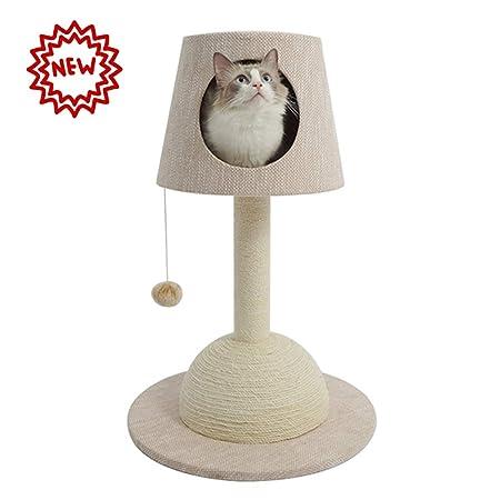 PETVE Lámpara De Mesa Gato Marco De Escalada Gato Litter Gato ...