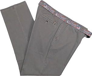 Meyer Herren Stretch Hose Jeans Oslo mit Gürtel 1-3118 34 grau 6edde873f5