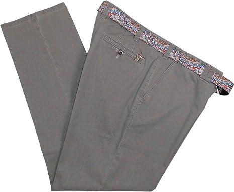 Meyer Herren Stretch Hose Jeans Oslo mit Gürtel 1-3118 34 grau  Amazon.de   Bekleidung 28ea4caef7
