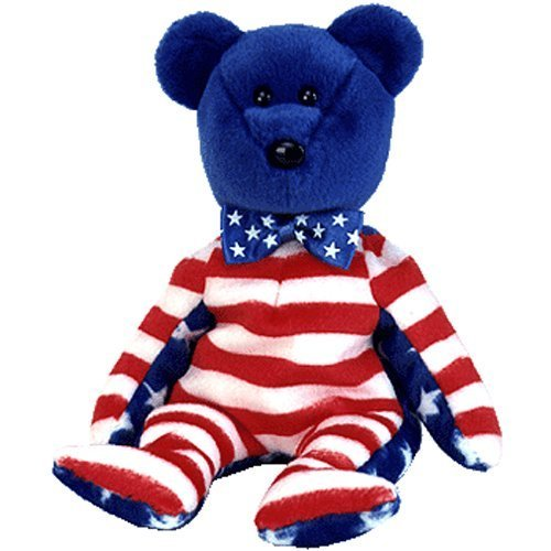 Ty Beanie Babies Liberty - Bear Blue (USA Exclusive) (4th July Bear)
