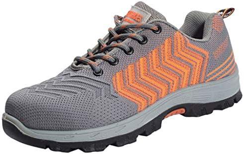 作業靴 軽量で消臭・防ダニの男性用シューズ、夏の通気性とパンク防止の作業靴、現場での耐摩耗性のアンチピアスシューズ 安全靴 (色 : N n, サイズ さいず : 44)