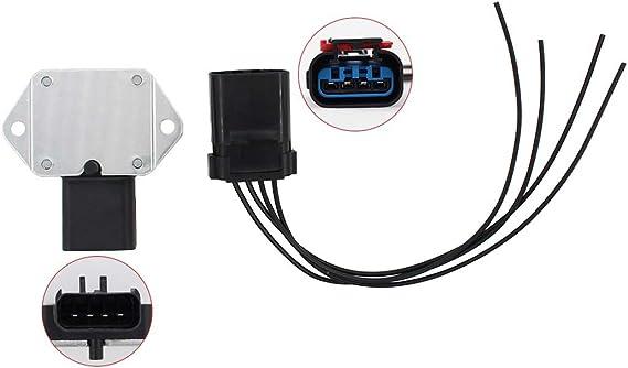 Radiator Cooling Fan Relay Harness Kit For Dodge Jeep Chrysler Plymouth V6 L6 V8
