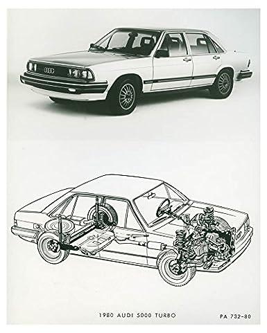 Amazon.com: 1980 Audi 5000 Turbo Automobile Factory Photo: Entertainment Collectibles