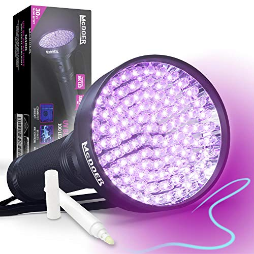 100 Led Light Flashlight in US - 7