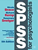 SPSS for Psychologists, Brace, Nicola and Snelgar, Rosemary, 0230362729