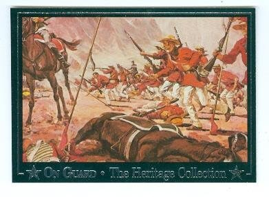 Mississippi Rifles trading card 1992 On Guard #12 1847 Mexican War