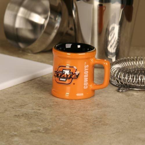 (Great American Products Oklahoma State Cowboys 2oz Sculpted Mug Shot)