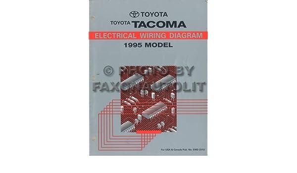 1995 toyota tacoma pickup wiring diagram manual original: toyota:  amazon com: books