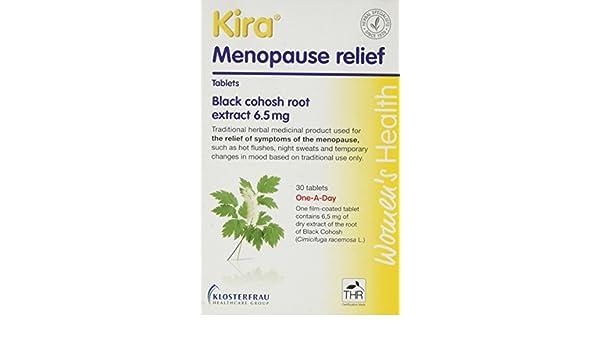 Kira Kira Menopause Relief 30 tablet: Amazon.es: Salud y cuidado personal
