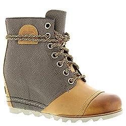 Premium Wedge Boots