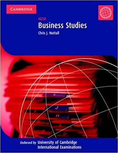 Business Studies: IGCSE (Cambridge International IGCSE) by Chris J. Nuttall (2002-06-30)