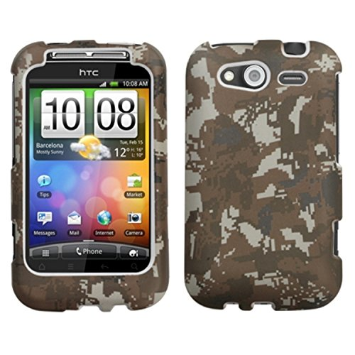 Mybat HTC Wildfire S GSM Lizzo Phone Protector Cover - Re...